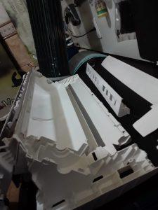 Depois e Durante Manutenção na Oficina da IT AR Condicionado